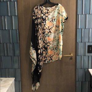 Foley + Corinna 100% Silk Sexy Kimono Dress
